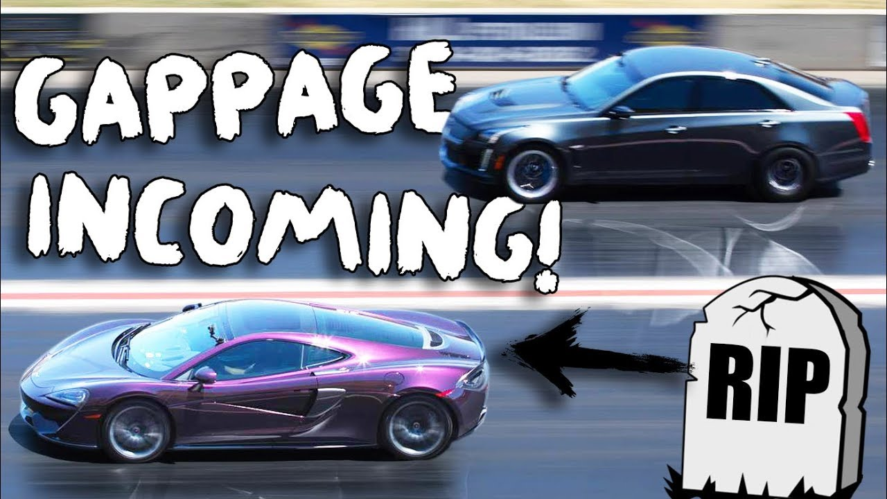"Exotic gets GAPPED by a ""Grandma Car""! 