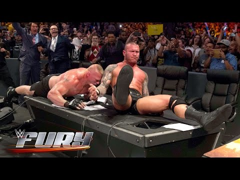 15 tables that refused to break: WWE Fury, Sept. 19, 2016