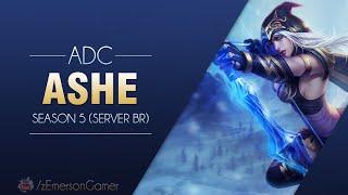 League of Legends -  Ashe (Season 5: BR)