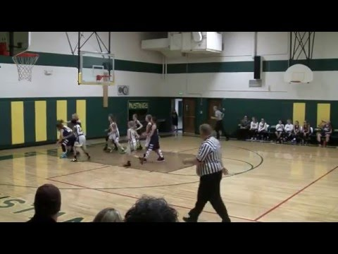 Colorado Springs Christian School vs. Manitou Springs, 2nd Quarter VTS 01 2