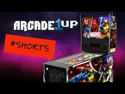Marvel Arcade1UP Pinball Machine #shorts from Mr. Wright Way