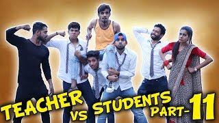 TEACHER VS STUDENTS PART 11 | BakLol Video |