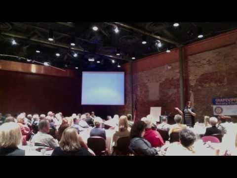 Jennifer Bagley Speaking to Grapevine Rotary Club