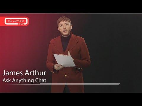 James Arthur Talks About His Mentors Ed Sheeran & Simon Cowell