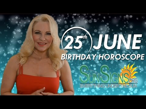Birthday June 25th Horoscope Personality Zodiac Sign Cancer Astrology