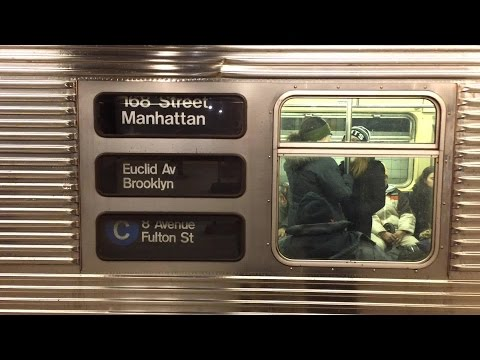 New York City Subway: Saturday Action Along the IND Eighth Avenue Line