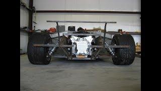 самодельный Ламборгини Replica Lamborghini / серия 2: Задняя подвеска