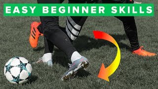 LEARN 5 EFFECTIVE BEGINNER MATCH FOOTBALL SKILLS
