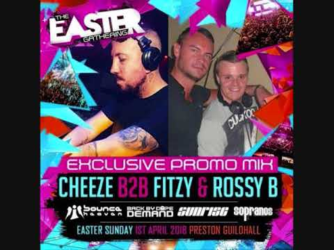 Dj Cheeze B2B Fitzy & Rossy-B - The Easter Gathering Promo!