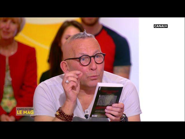 Gérard Collard : la liste de lecture - LInfo du Vrai du 15/04 - CANAL+