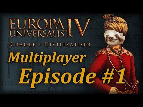 Let's Play EUIV Cradle of Civilization Multiplayer Episode 1 (Yemen Divided)