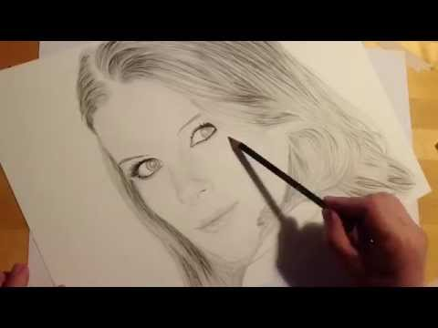 Kate Mara Speeddrawing Time Lapse Zeitraffer Pencil Drawing Bleistift Zeichnen Art by Sauer