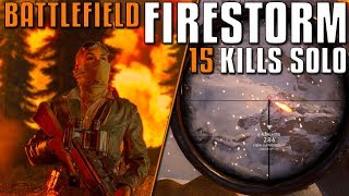 Battlefield FIRESTORM - 15 Kills Solo Gameplay! thumbnail