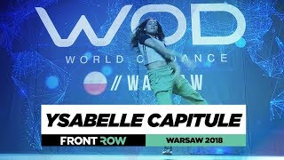 Baixar Ysabelle Capitule | FrontRow | World of Dance Warsaw 20187 | #WODWAW18