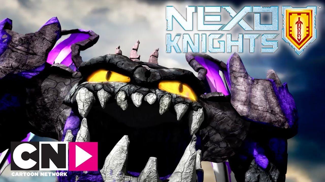 nexo knights  stein giganten  norsk cartoon network