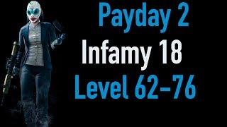 Payday 2 Infamy 18 | Part 2 | Level 62-76 | Xbox One