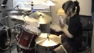 "Bullet For My Valentine ""Waking The Demon"" Drumcover - Fumie Abe -"