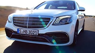 Mercedes s class 2018 review world premiere new s class w222 carjam tv hd