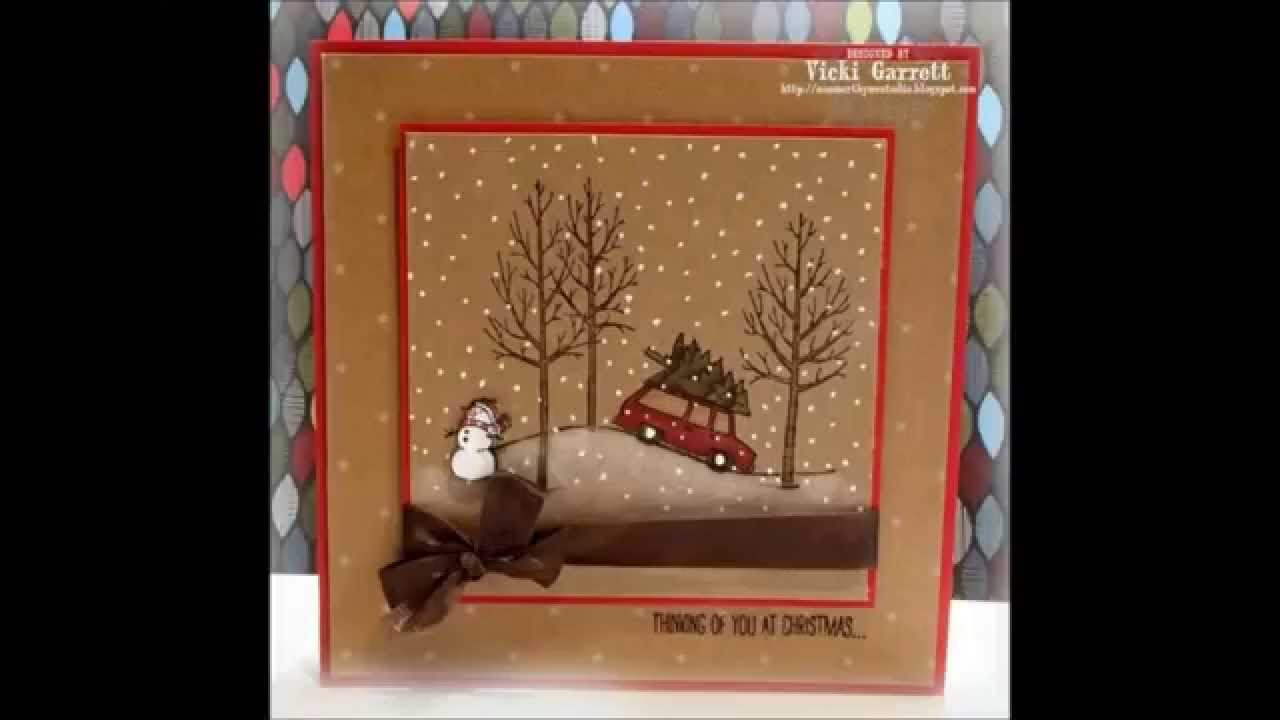 White Christmas Stampin Up Stamps Gallery 1 Quick Amp Easy