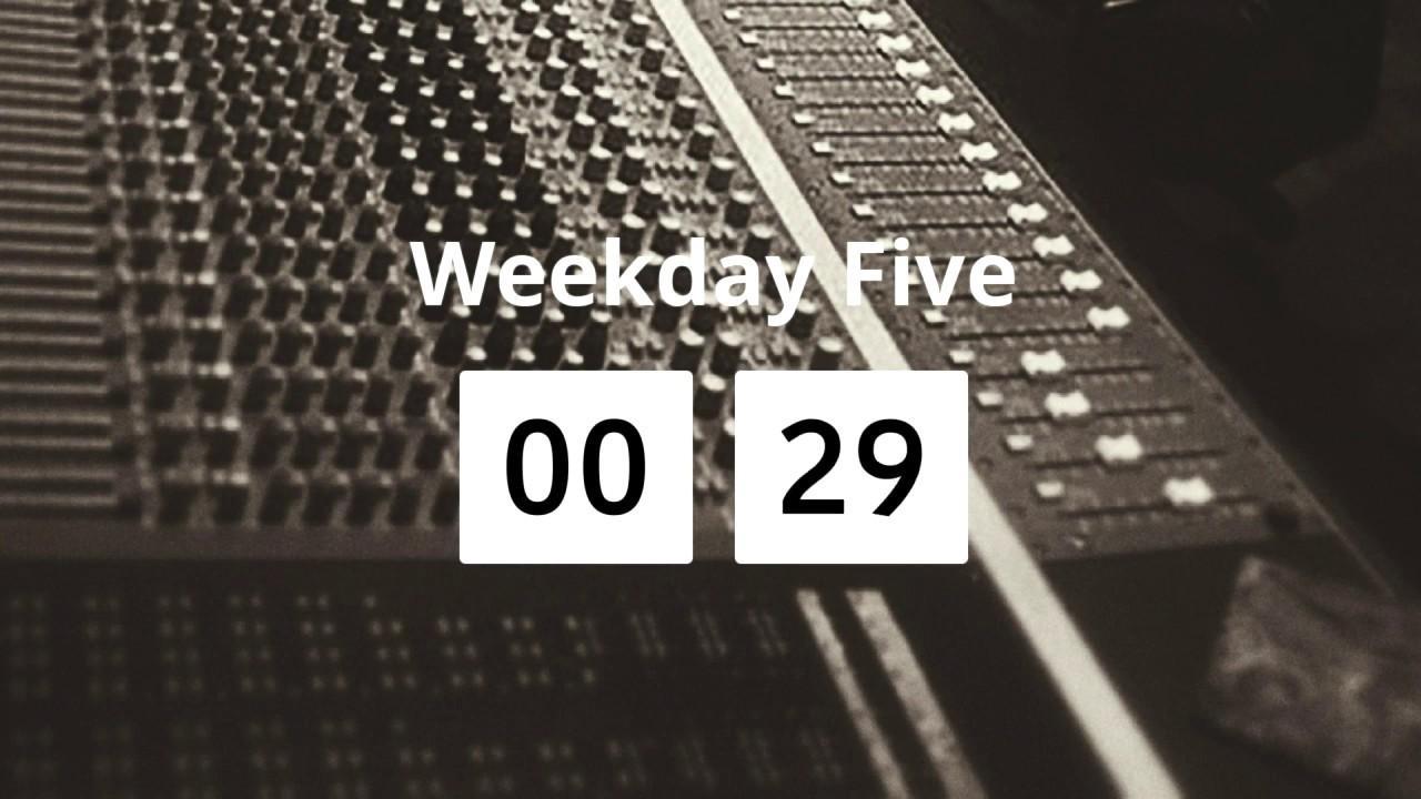 P.D. Ronstadt - Weekday Five (4/13/20)