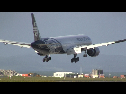 Air New Zealand ► Boeing 777-300 ► Landing ✈ Auckland Airport