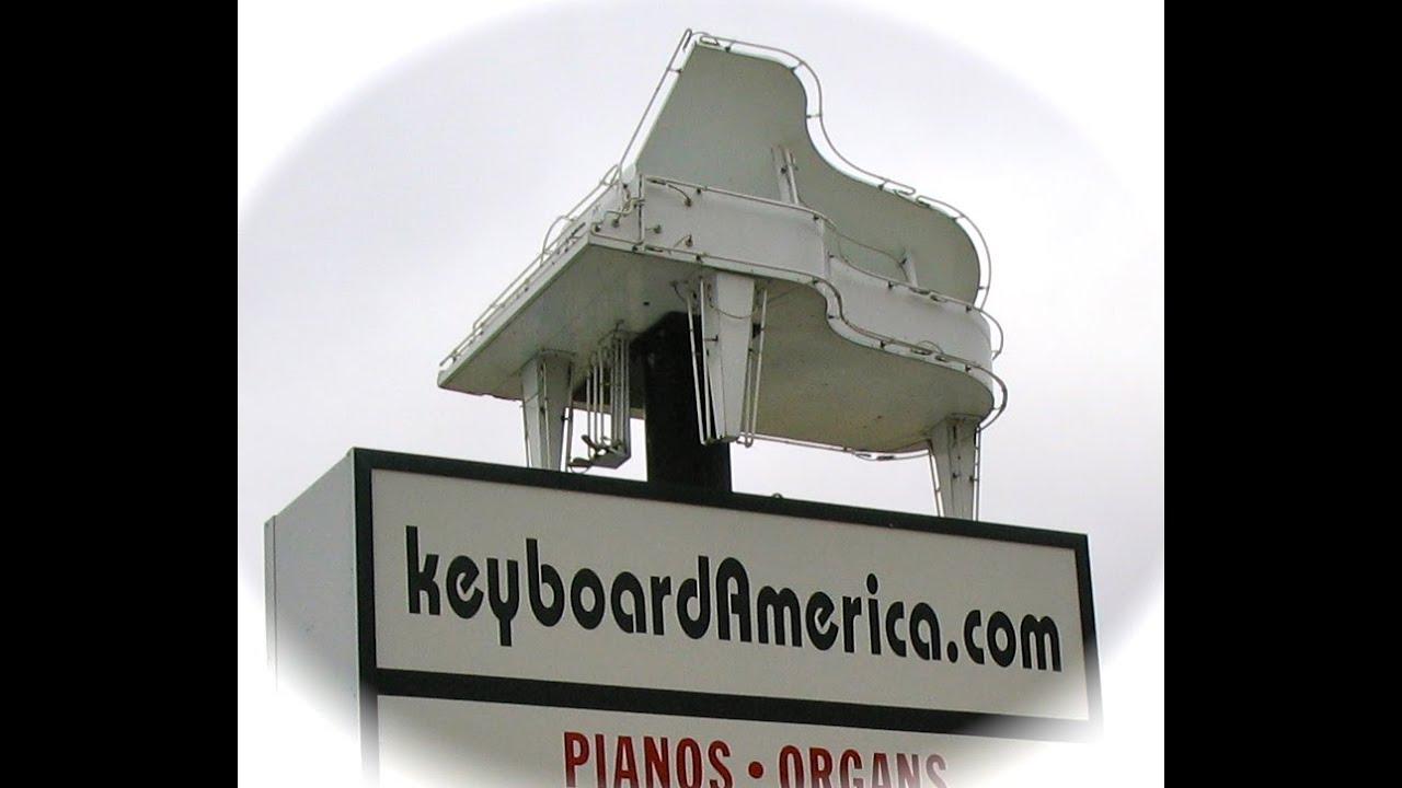 Pianos At Johnny Janosik Furniture, Laurel DE From Keyboardamerica