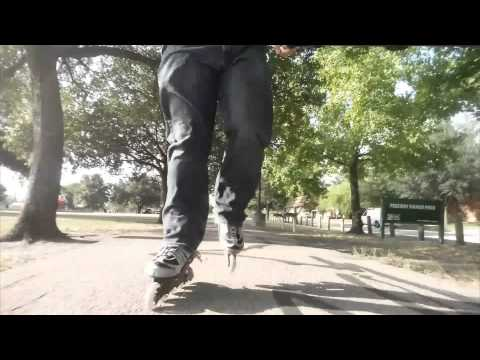 #85 Inline skating to Freeway Manor Park and back. (Narrated)