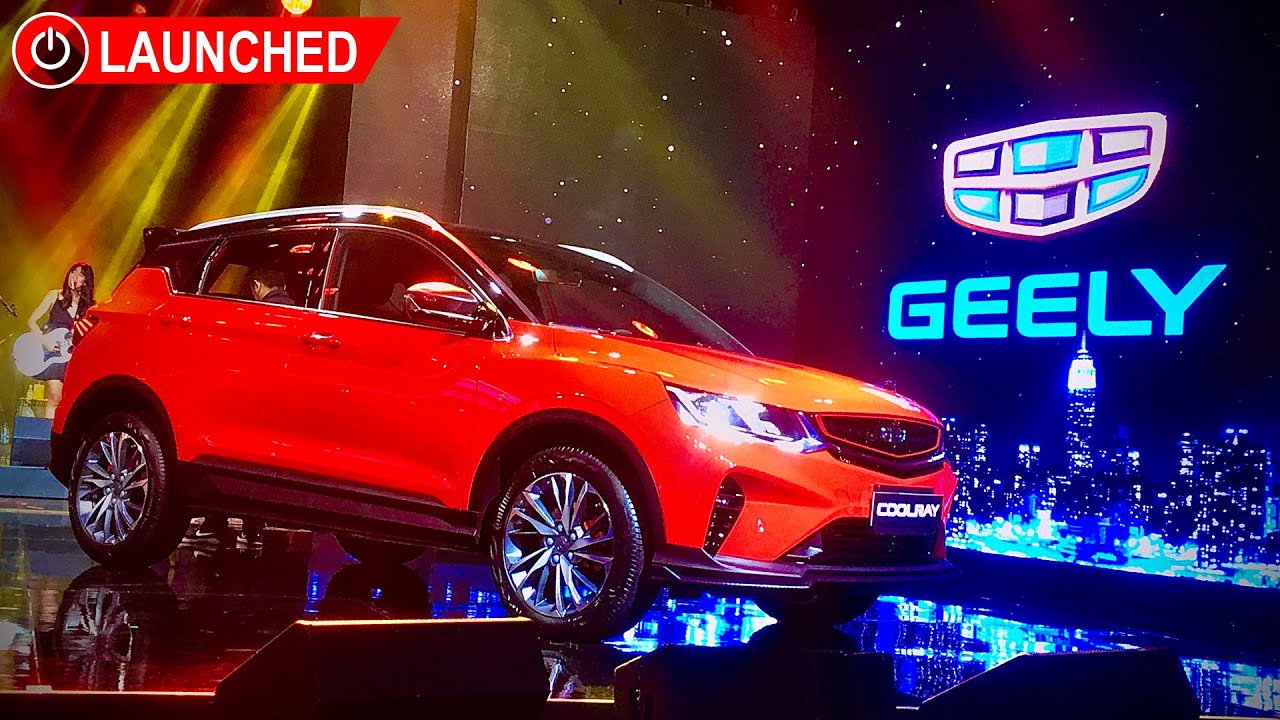 2019 Geely Coolray Launch