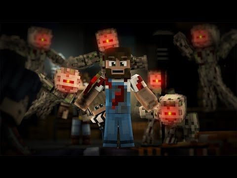 "♫""Hero - Minecraft Epic Fight Animation Parody of Twenty One Pilot's Ride"