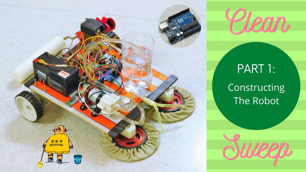 CleanSweep- the Floor Cleaning Robot!: 12 Steps (with Pictures)