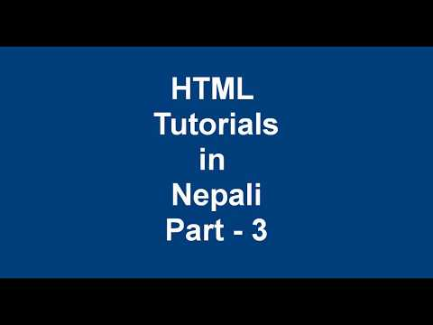 Full course HTML tutorial part - 3 || Section, article, main tag thumbnail