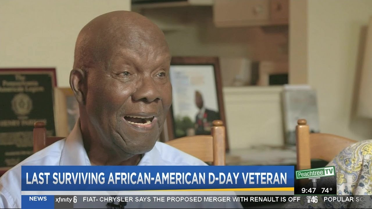 The Last  African American D-Day combat veteran remembers D Day in WW2.