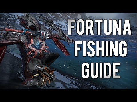 Warframe: SERVO FISHING 101 | HOW & WHERE TO FISH EFFICIENTLY IN FORTUNA