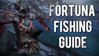 Warframe: SERVO FISHING 101 | HOW & WHERE TO FISH EFFICIENTLY IN FORTUNA