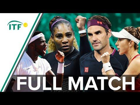 Roger Federer/Belinda Bencic V Serena Williams/Frances Tiafoe | FULL MATCH | USA V SUI | Hopman Cup