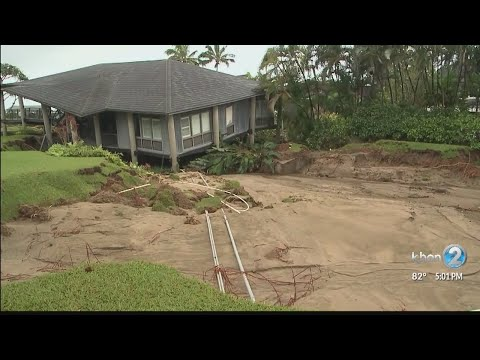 First-hand look at extensive flood damage, rescue efforts on Kauai