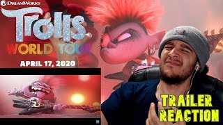 Trolls World Tour - Official TRAILER - REACTION !!