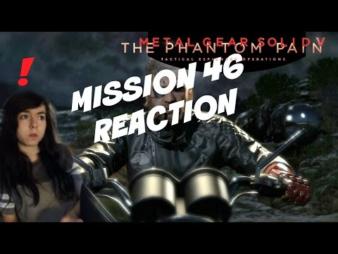 Mission 46: Man Who Sold The World Reaction | Metal Gear Solid V: Phantom Pain | Connie Kuroi