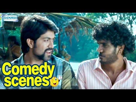 Raja Huli Kannada Comedy - Scene 1 - Yash,...