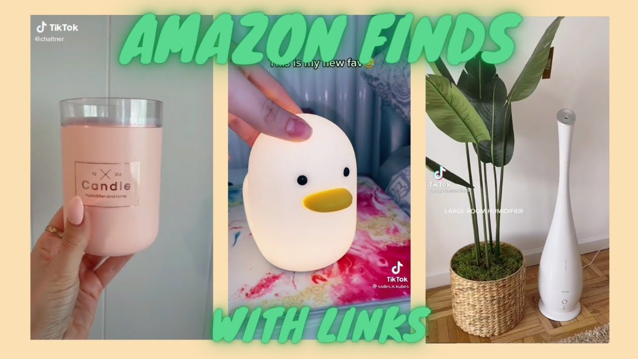 AMAZON FINDS WITH LINKS | TIKTOK MADE ME BUY IT