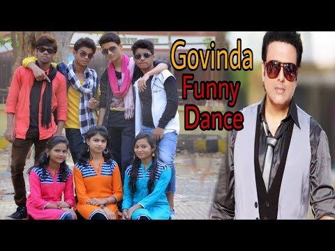 Govinda Funny Act Bollywood Dance | Dil Dosti Dance ( bollywood Dance Video ) Dabu Auncle & Govinda