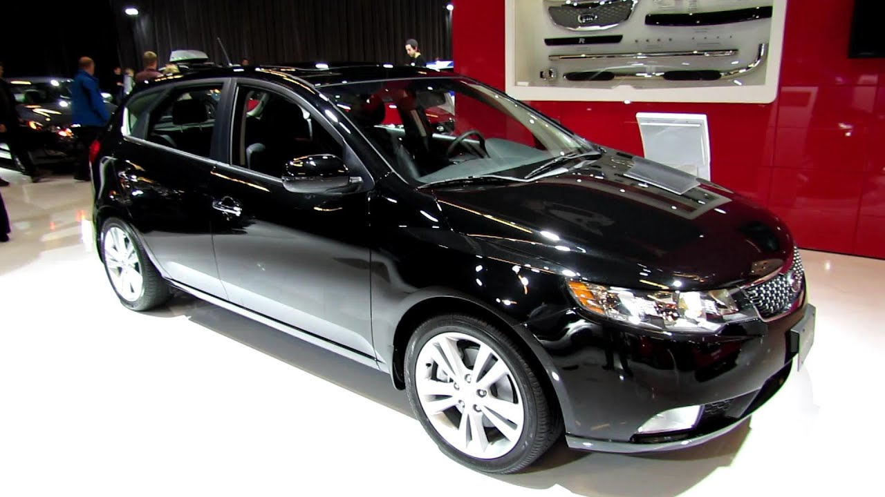 Elegant 2013 KIA Forte 5 Hatchback SX Luxe   Exterior And Interior Walkaround   2013  Montreal Auto Show