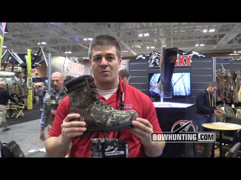 2014 New Bowhunting & Archery Gear: Rocky Corn Stalker Boots