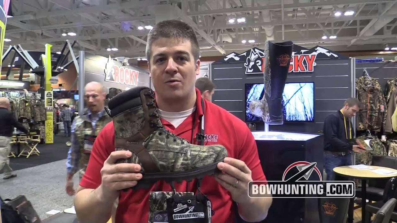 2014 New Bowhunting & Archery gear: Rocky Corn Stalker Boots - YouTube