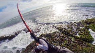 Pesca de corvinas, Isla Mocha 2015, Chile.