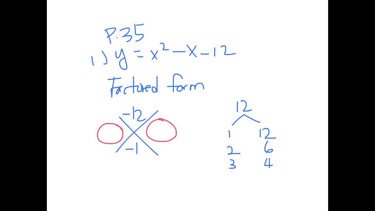 Converting to vertex factored form and youtube converting to vertex factored form and falaconquin