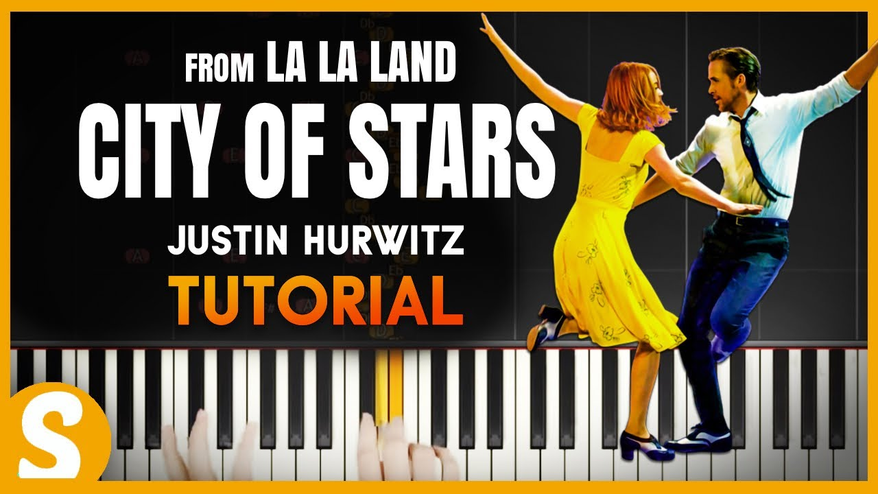 how to play city of stars on piano easy