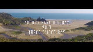 Three Cliffs Bay - August Bank Holiday 2017