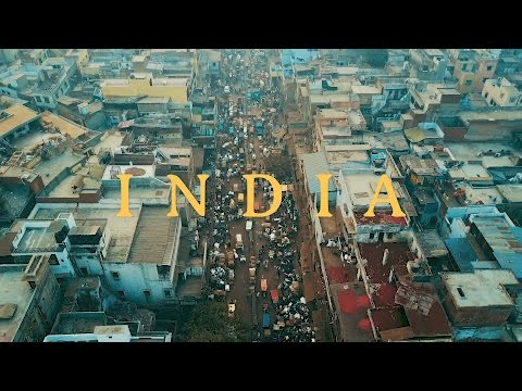 [4K] INDIA - Golden Triangle -  New/Old Delhi, Agra and Rajasthan