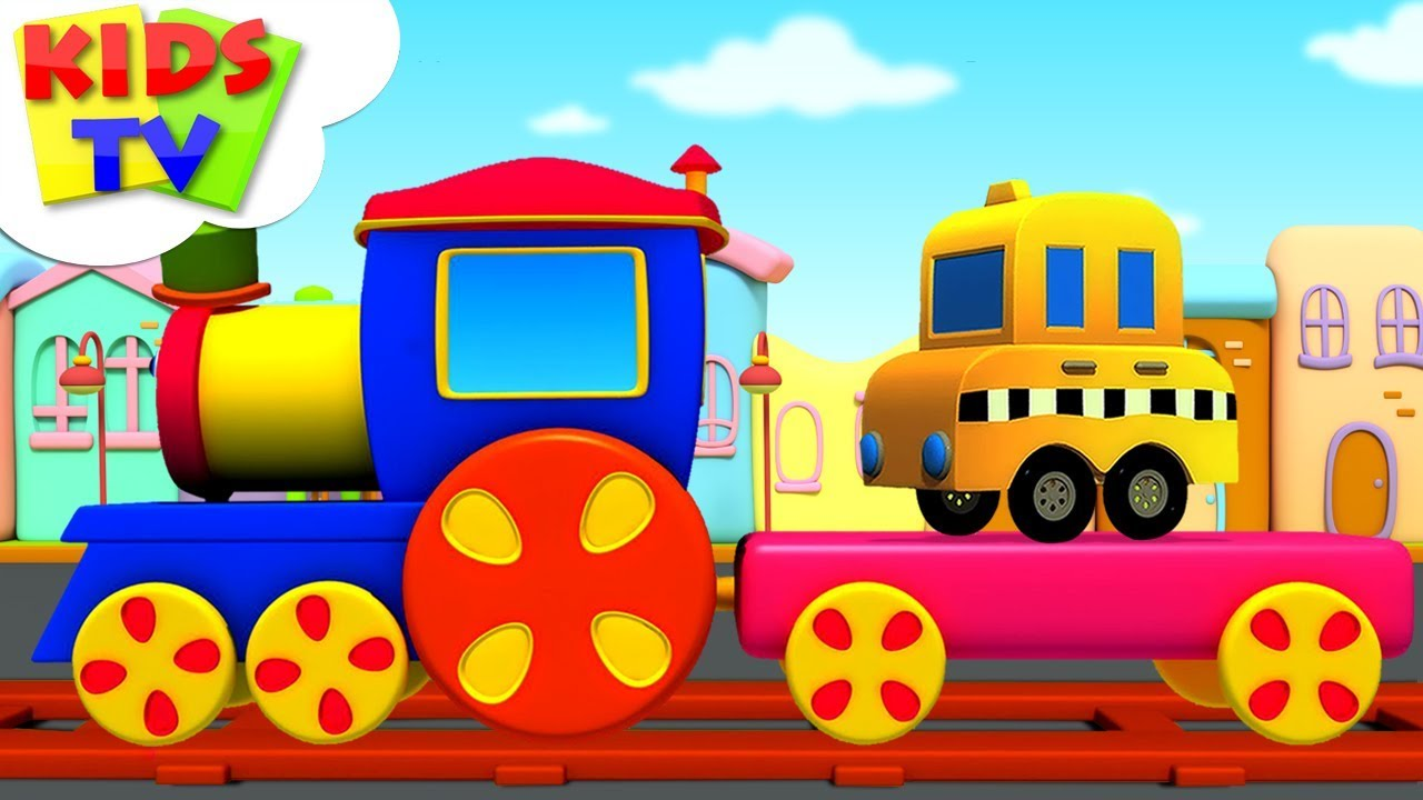 Transport Train | Preschool Learning Videos with Bob The Train | Kids TV